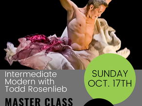 Master Class with Todd - One Week from Today!!!