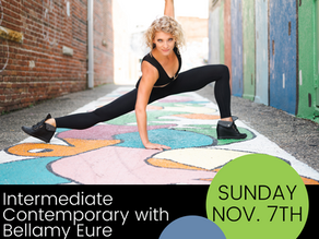 Our Next Master Class - Contemporary with Bellamy!