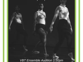 TRD and VBT Ensemble Audition - Sept. 26th!!!