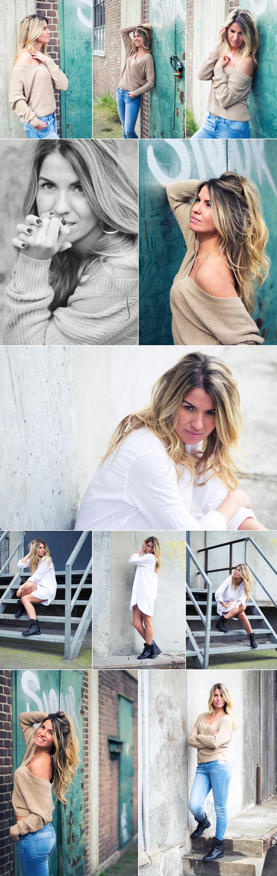 Industriële portretfotografie Amy