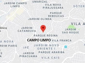 Mapa Limpeza de Fossa Campo Limpo