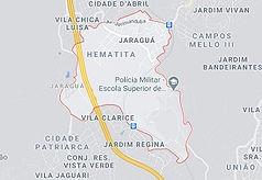 Mapa Desentupidora Jaraguá