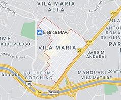 Mapa Desentupidora Vila Maria