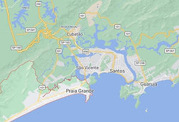 Mapa Desentupidora Praia Grande