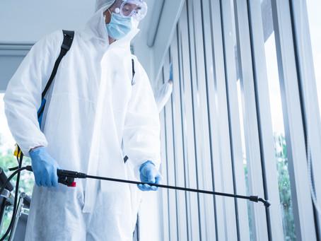 Sanitização Higienização e Limpeza