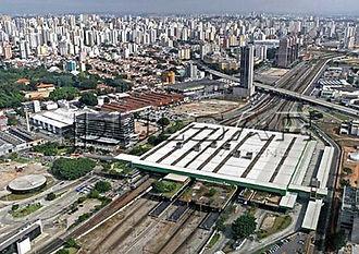 Estação Barra Funda Base local de atendimento