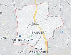 Mapa Desentupidora Itaquera