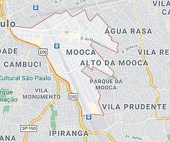 Mapa Desentupidora Mooca