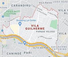 Mapa Desentupidora Vila Guilherme