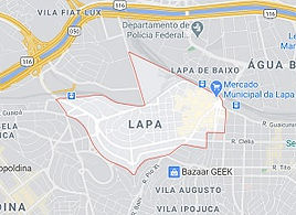 Mapa Desentupidora Lapa