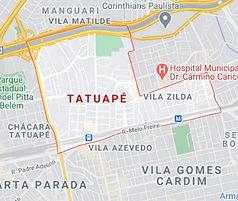 Mapa Desentupidora Tatuapé