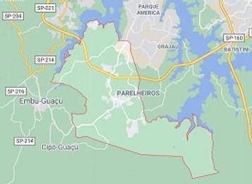 Mapa Desentupidora Parelheiros.