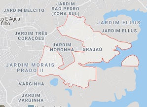 Mapa Desentupidora Grajaú