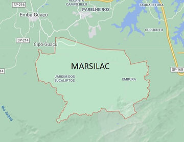 Mapa de Marsilac Desentupidora