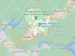 Mapa Desentupidora São José dos Campos