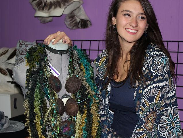 Jasmin Picarello owner of Giulia Letzi in the Letzi showroom in Rochester, NY