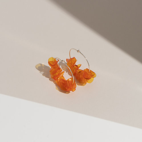 Alice Orange Hoops