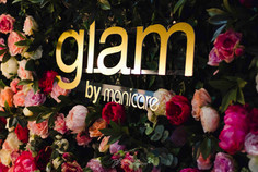 Glam by manicare rose wall