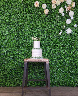 Flowerwall Birthday Party