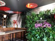 Tropical Flower Wall