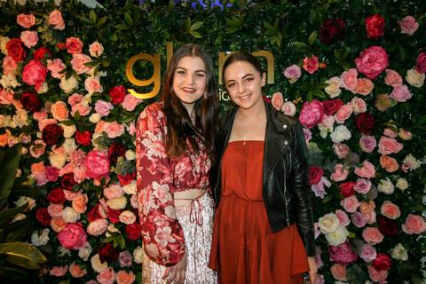 Rose Flowerwall Glam event
