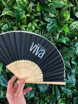 Viva tropical backdrop