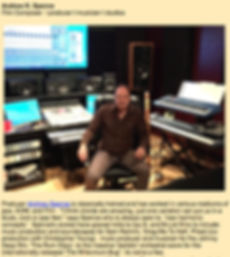 Andrew Spence Fim Music Composer Los Angeles