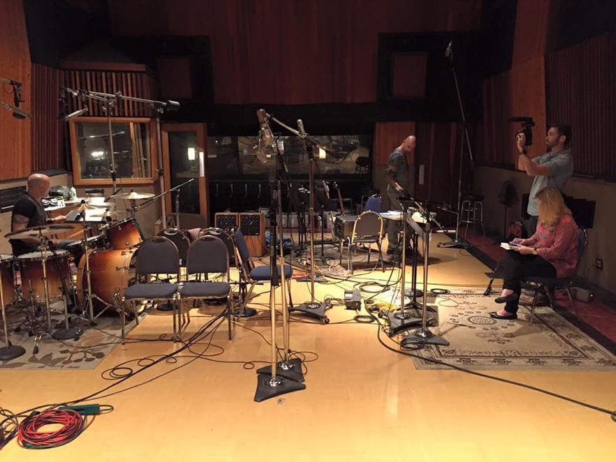 East West Studios session