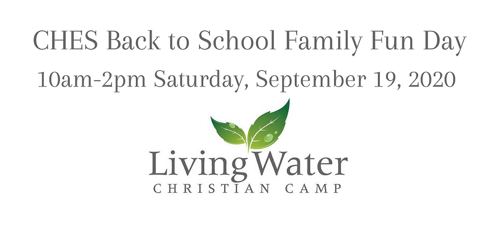 Back to School Family Fun Day