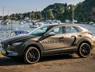 Mazda también presentará su vehículo eléctrico en el 2020