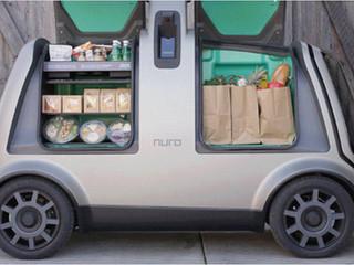 Softbank desarrolla vehículo autónomo que hará entregas a domicilio