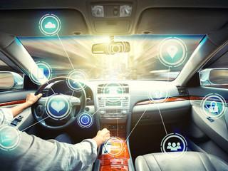 Lo que viene en el futuro: autos alineados con los semáforos