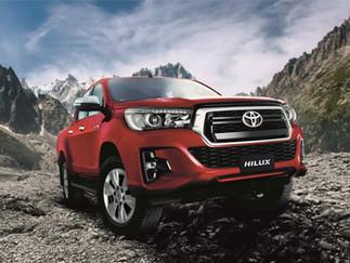 Toyota presenta su nuevo modelo Hilux con nuevo estándar de seguridad