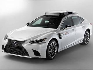 Toyota presenta su vehículo autónomo de prueba: el Lexus LS 500h