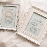 結婚指輪のデザイン画