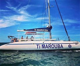 tour ti marouba, catamaran timaruba