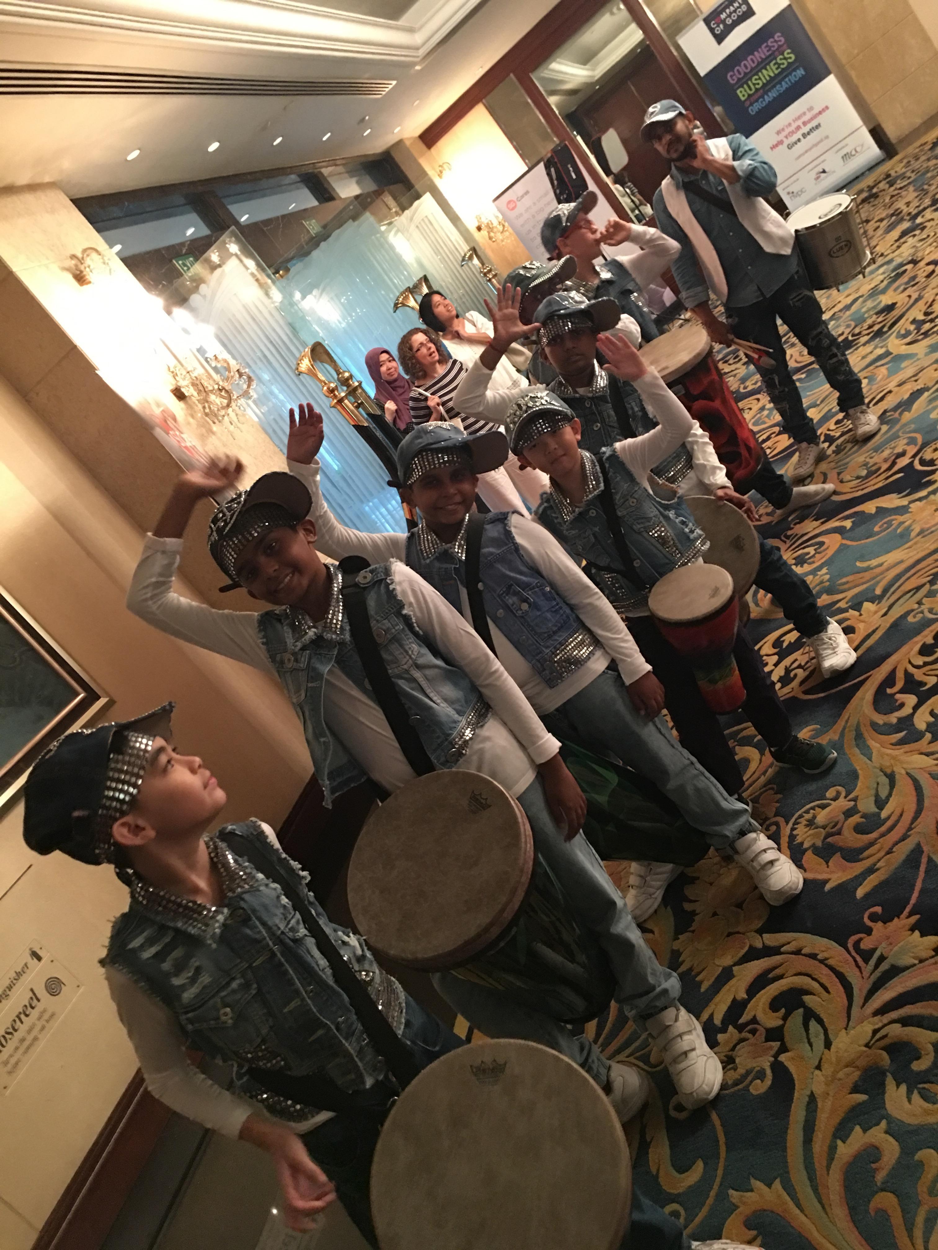 Drum Prodigy Inclusive Ensemble @ NVPC Awards 2017