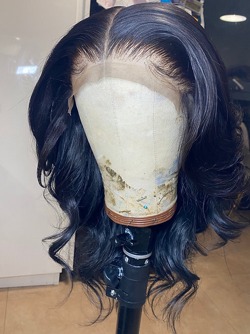 Feather layered middle part unit