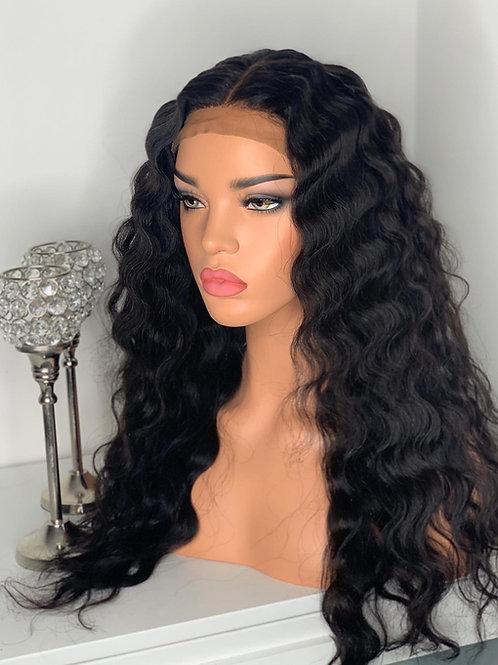 Waves Crimped wig unit