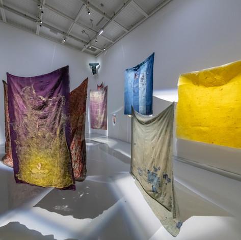 『重力と虹霓 Gravity and Rainbow』Solo exhibition, Shiseido gallery, Tokyo