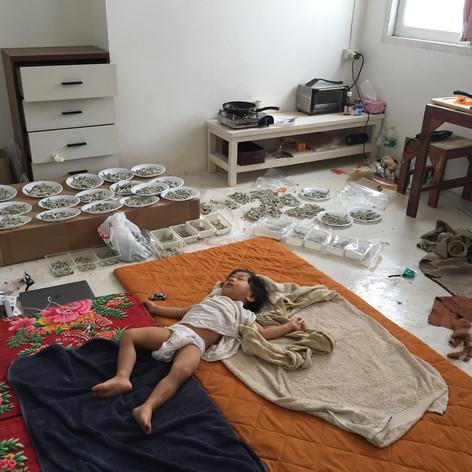 "2018   ""Thanks, Jim Thompson""[Bangkok Biennial 2018『BARRAK : survibes』]White Line(Bangkok)"