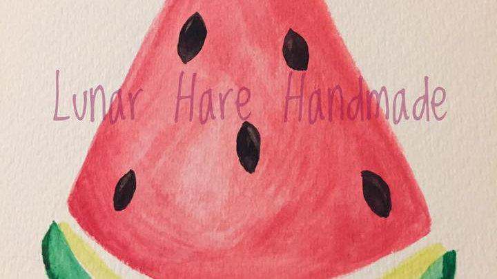 Watermelon Greeting Card Set