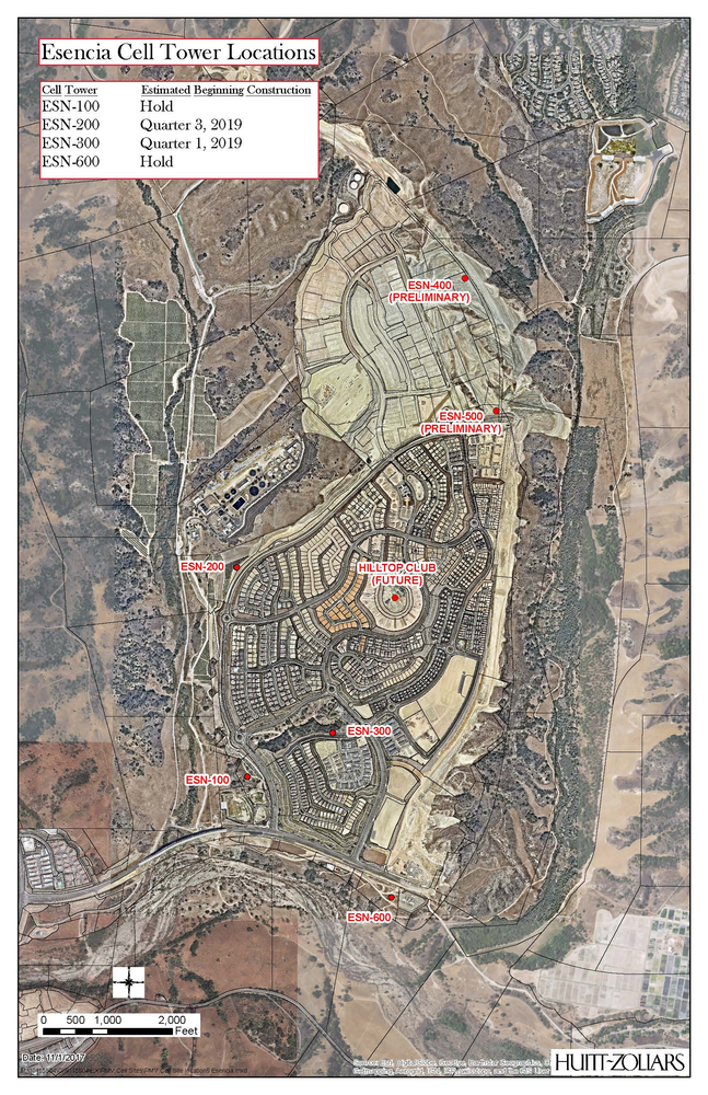 Rancho Mission Viejo to Install up to 7 New Cell Towers in Esencia on phone locator map, radio tower map, verizon tower map, at&t tower location map, cellular towers map, cell service outage map, shanghai tower map, residential map, federal park map, at&t microwave tower map, fcc tower locator map, cell network map, sprint tower map, carbon tax map, wifi map, cell phone map, super center map, water tower map, microwave tower location map, desalination plant map,
