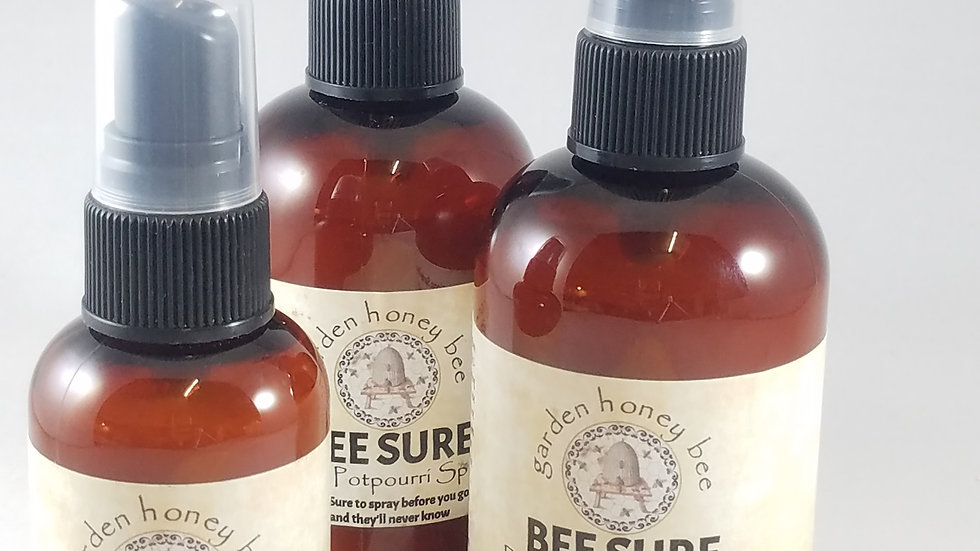 "Bee Sure  "" before you go""   2 oz."
