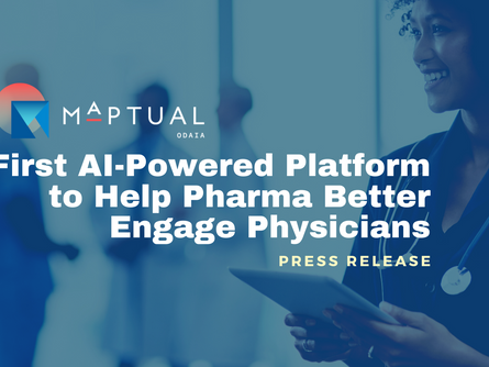 First AI-Powered Platform to Help Pharma Better Engage Physicians