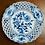 "Thumbnail: Meissen pierced blue and white plate ""Blue Onion"" pattern, c1900 #2"