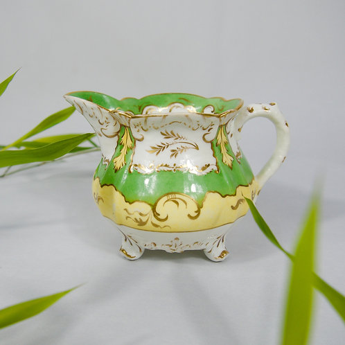 Rockingham creamer/milk jug, dating 1830-1835