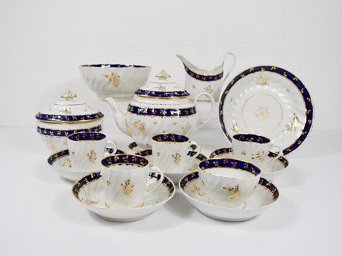 Chamberlains Worcester part tea service, c1786-1810