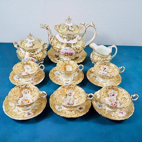 Coalport Rococo Tea Service
