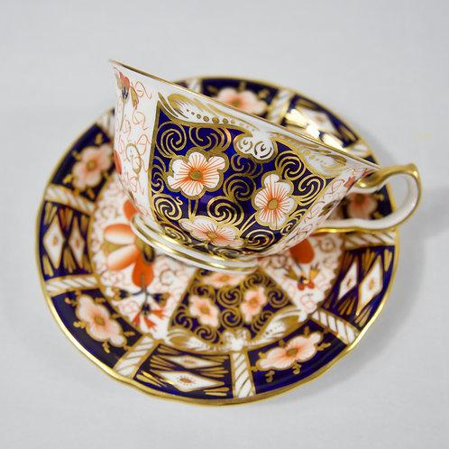 Teacup and saucer, Royal Crown Derby Imari